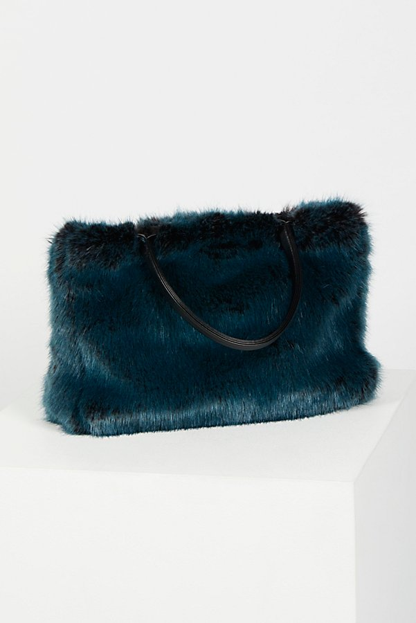 Slide View 4: Rosa Faux Fur Tote