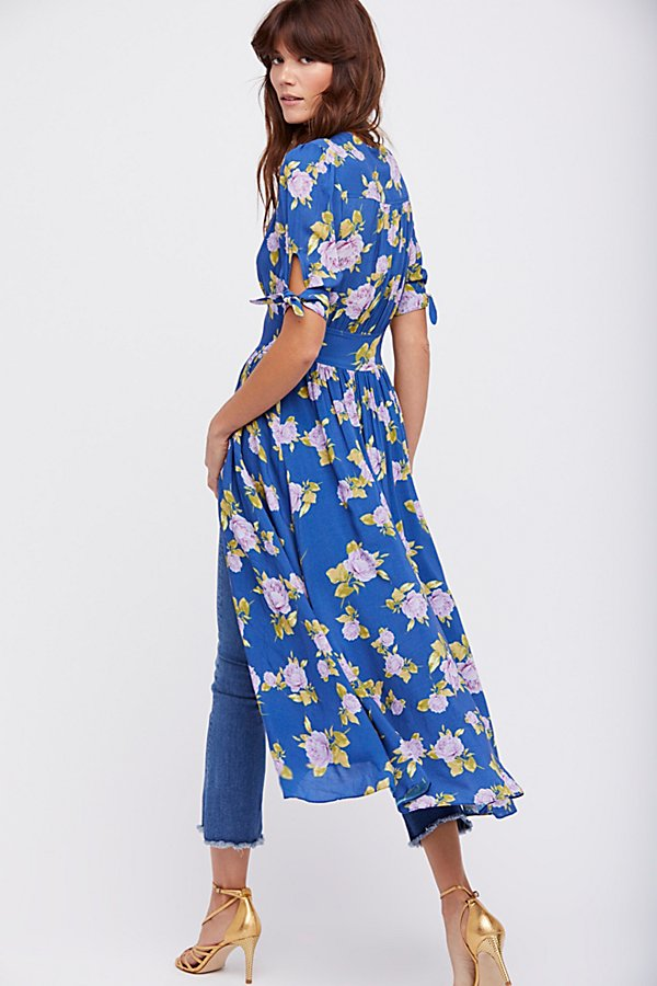 Slide View 2: Printed Love of My Life Midi Dress