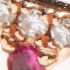 14k Gold / Ruby / Diamonds