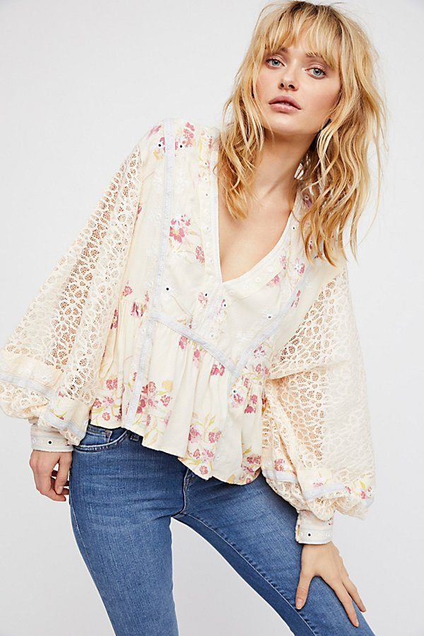 Slide View 1: Boogie All Night Printed Blouse