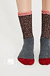 Thumbnail View 1: Merino Color Block Crew Sock