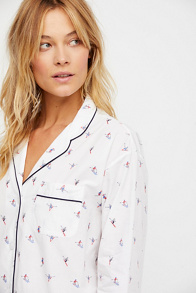 Slide View 3: Marina Pajama Shirt