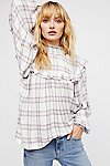 Thumbnail View 1: Charlie Ruffle Plaid Top