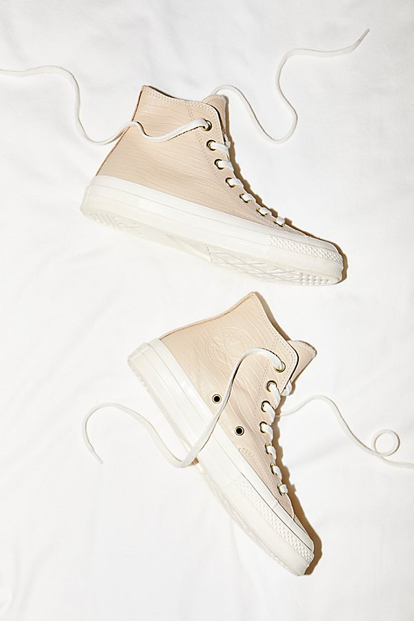 Slide View 1: Embossed Hi Top Trainer
