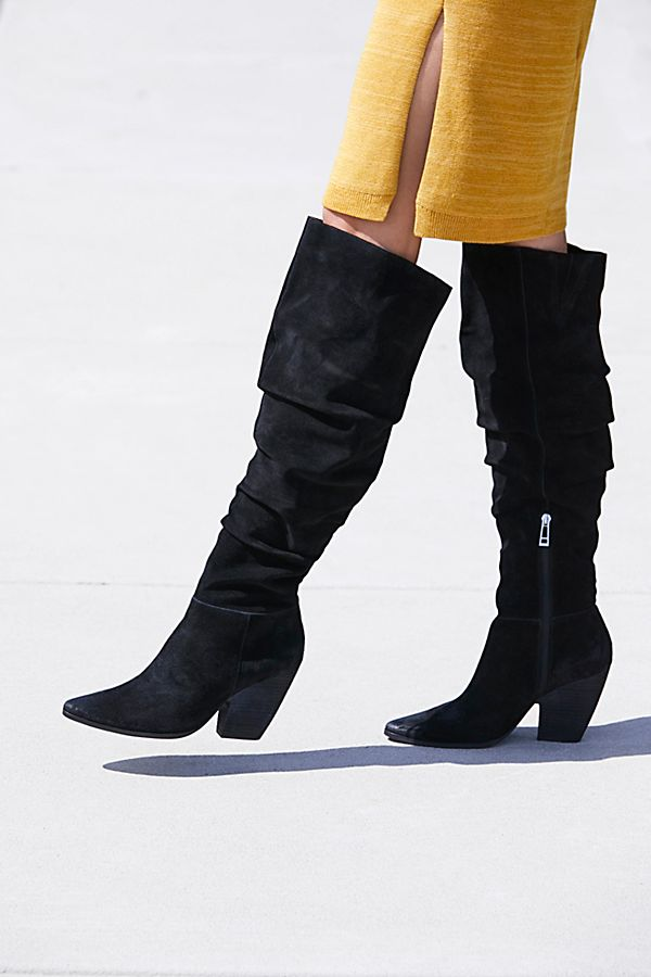 dfdc7b1d902 Slouchy Over The Knee Boots Leather - Images Of The Best Knee