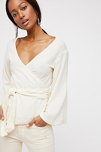 Beyond The Beach Wrap Top