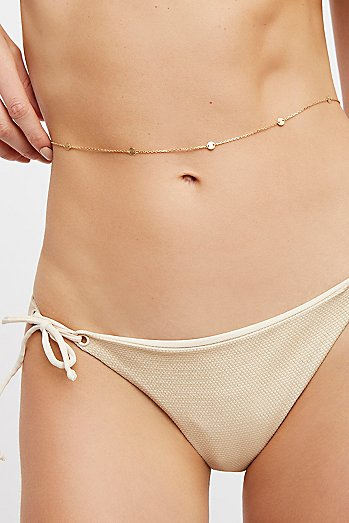 Sofia Delicate Coin Belly Chain