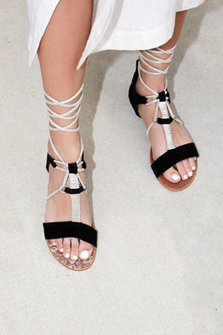 Free People Fiji Suede Wrap Sandal Free People Order Online Free Shipping Amazon Cheap Sale Wholesale Price Finishline Cheap Price Discount Fast Delivery vxulW