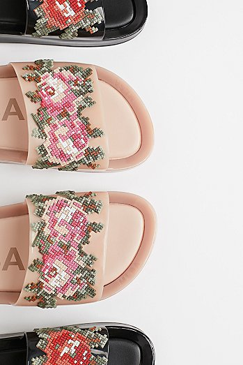 Vegan Beach Slide Sandal