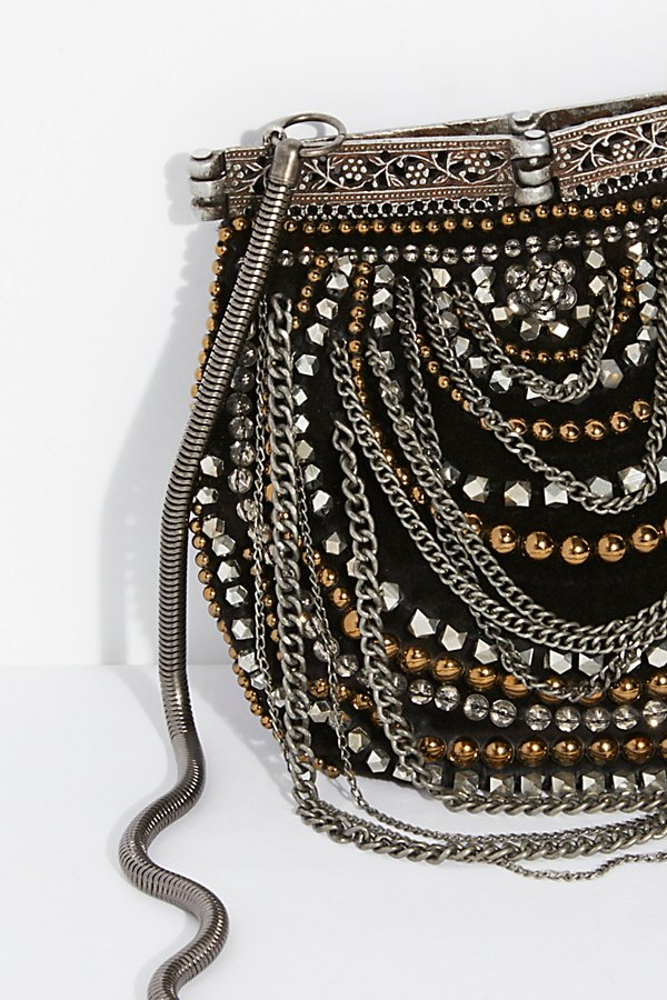 Slide View 3: Diamonte Embellished Crossbody