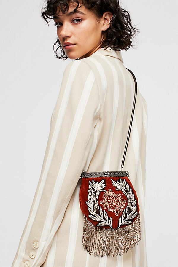 Slide View 1: Diamonte Embellished Crossbody