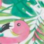 绿色配火烈鸟