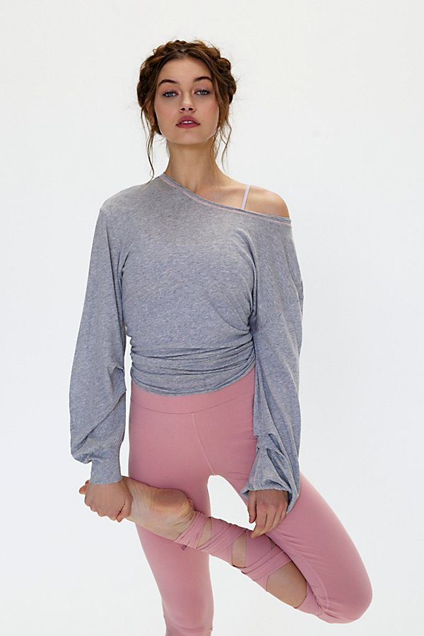 Slide View 1: Pivot Point Long-Sleeve Top