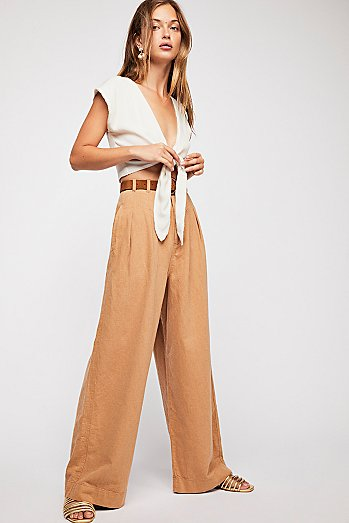 River Winds Pleated Trousers