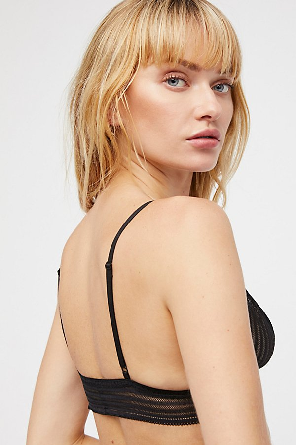 Slide View 2: Shadow Stripe Bralette