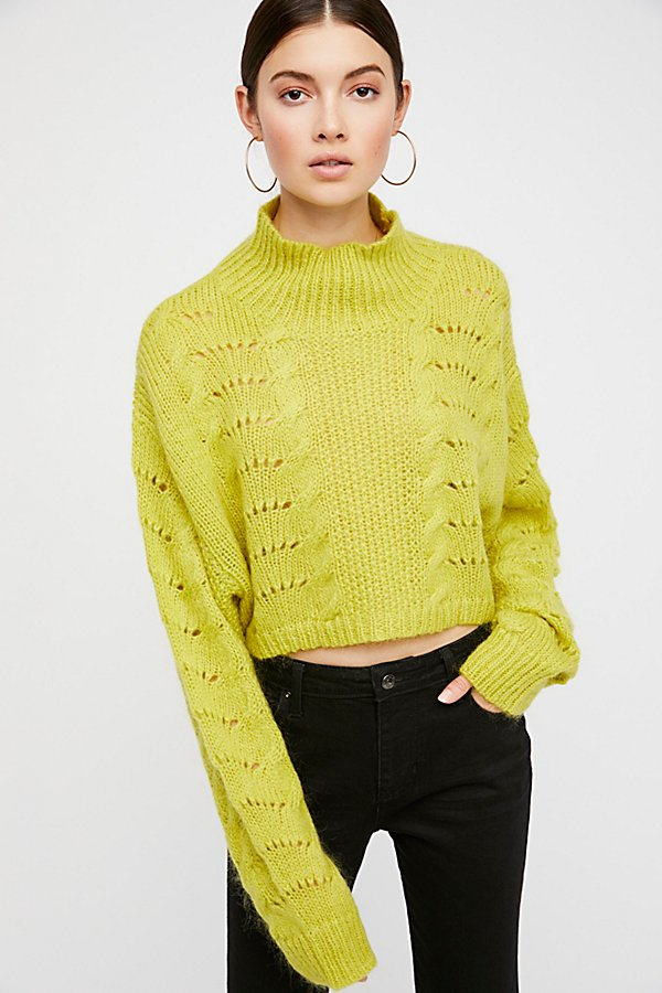 Slide View 2: Pointelle Pullover