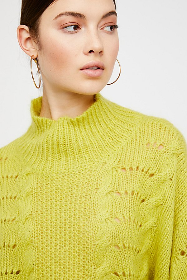 Slide View 3: Pointelle Pullover
