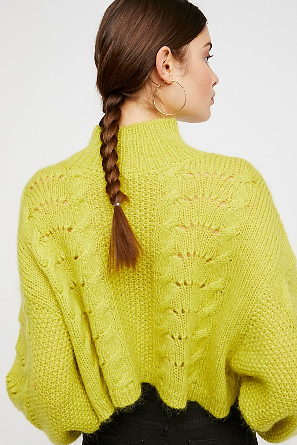 Slide View 4: Pointelle Pullover