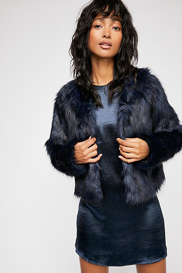 Slide View 1: Frankie Fur Coat