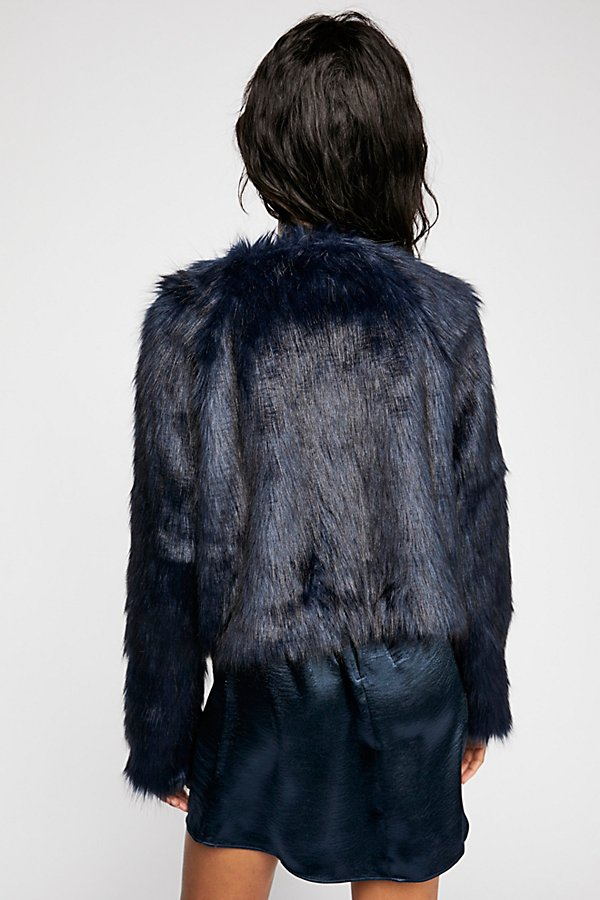 Slide View 3: Frankie Fur Coat
