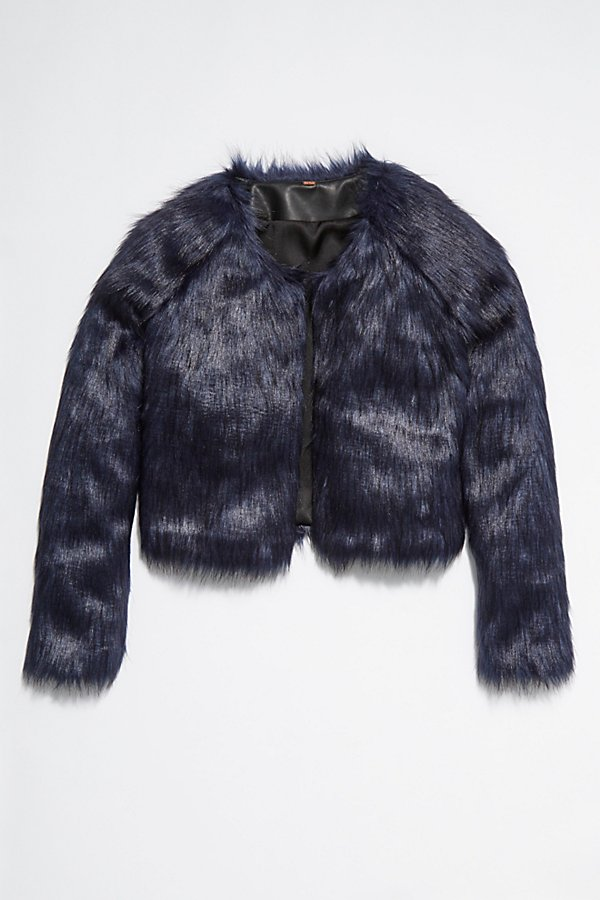 Slide View 5: Frankie Fur Coat