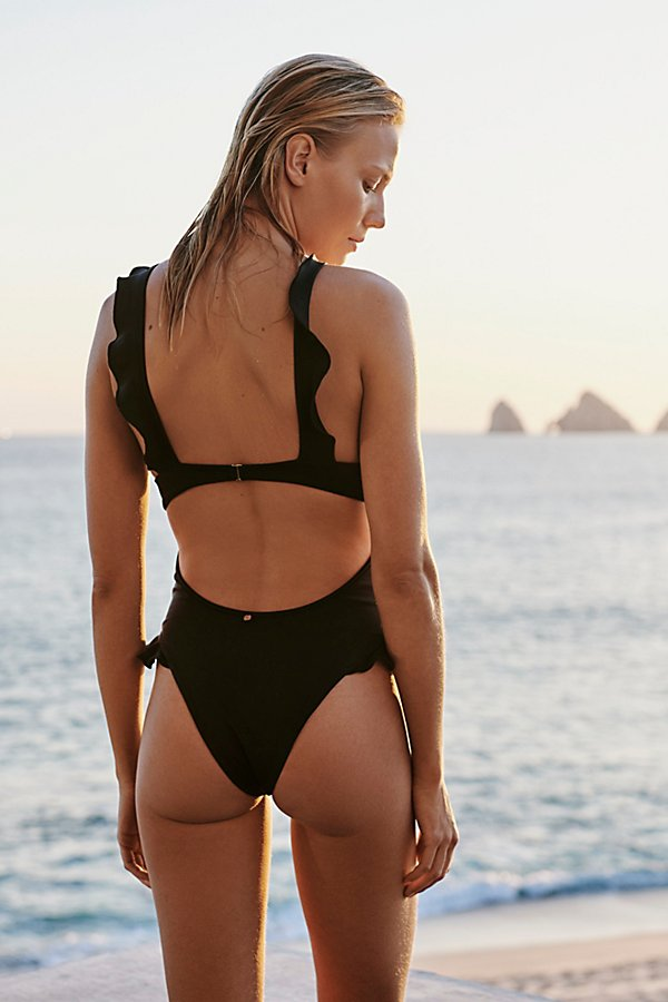 Slide View 1: Rodeo Keyhole One-Piece Swimsuit