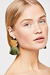 Thumbnail View 1: Diamond Canyon Tassel Earring