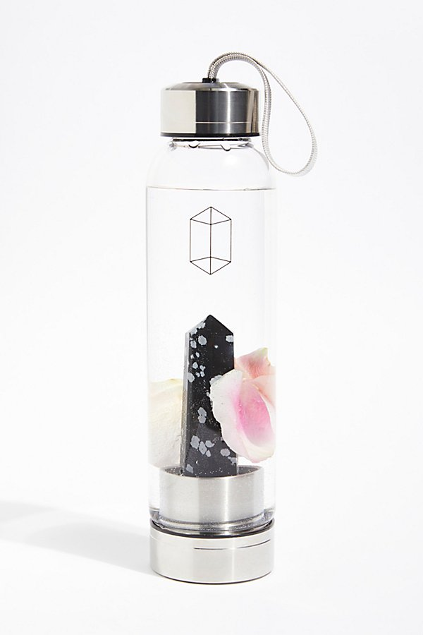 Slide View 1: Glacce Exclusive Crystal Water Bottle
