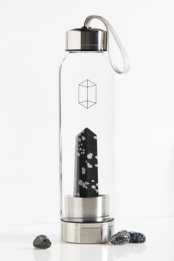 Slide View 2: Glacce Exclusive Crystal Water Bottle