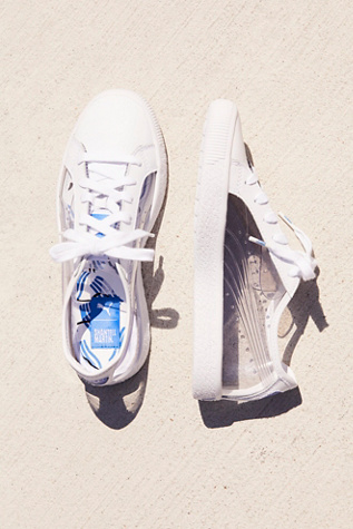 Clyde Clear Sneaker by Free People