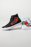 Thumbnail View 1: Embroidered Rose Hi Top Sneaker