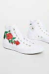Thumbnail View 3: Embroidered Rose Hi Top Sneaker