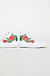 Thumbnail View 4: Embroidered Rose Hi Top Trainer