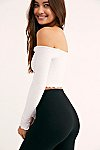 Thumbnail View 2: Textured Long Sleeve Crop