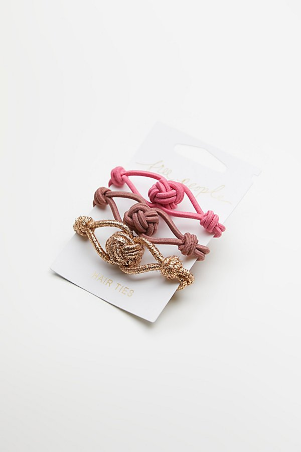 Slide View 2: Knot Hair Ties