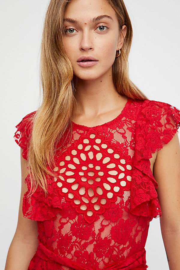 Slide View 3: Celeste Lace Top