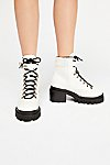 Thumbnail View 3: Check Lace-Up Boot