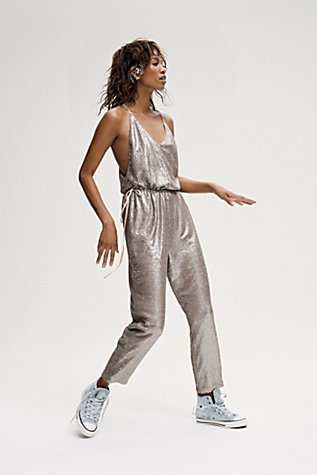 Sequin Pantsuit Free People