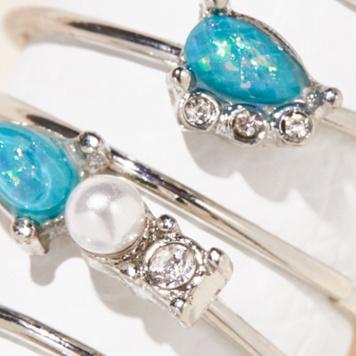 Blue Opal / Silver