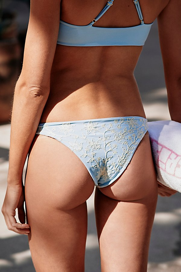 Slide View 2: Embroidered Bikini Bottom