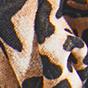 棕褐豹纹 / 黑色