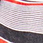 红色/黑色条纹