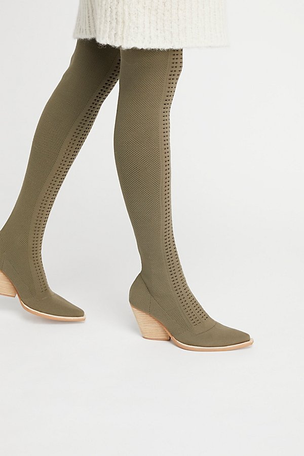 Slide View 1: Ottoman Over-The-Knee Boot