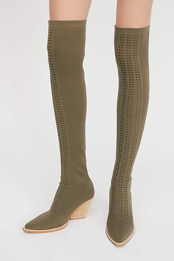Slide View 2: Ottoman Over-The-Knee Boot