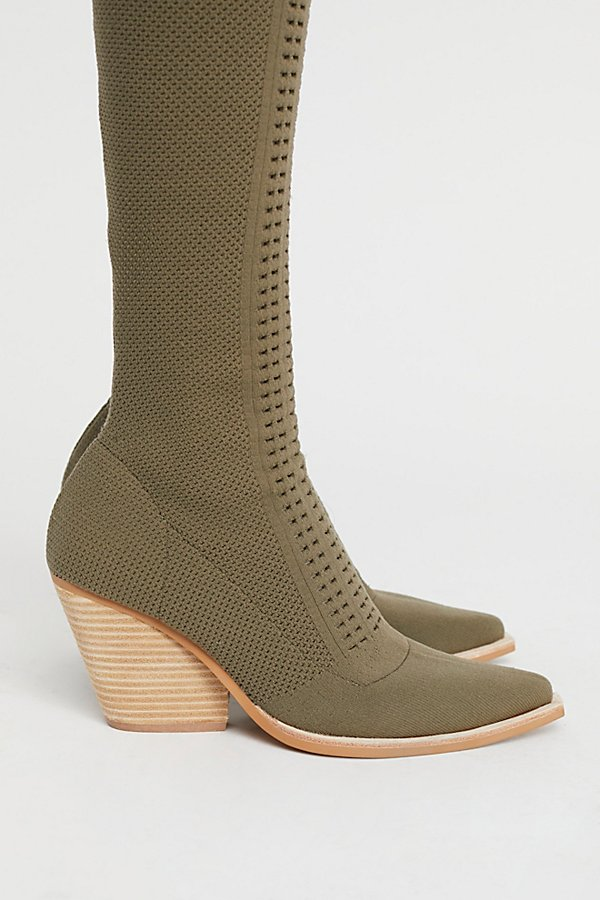 Slide View 3: Ottoman Over-The-Knee Boot