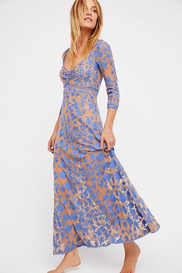 Slide View 1: Temecula x Lace Maxi Dress