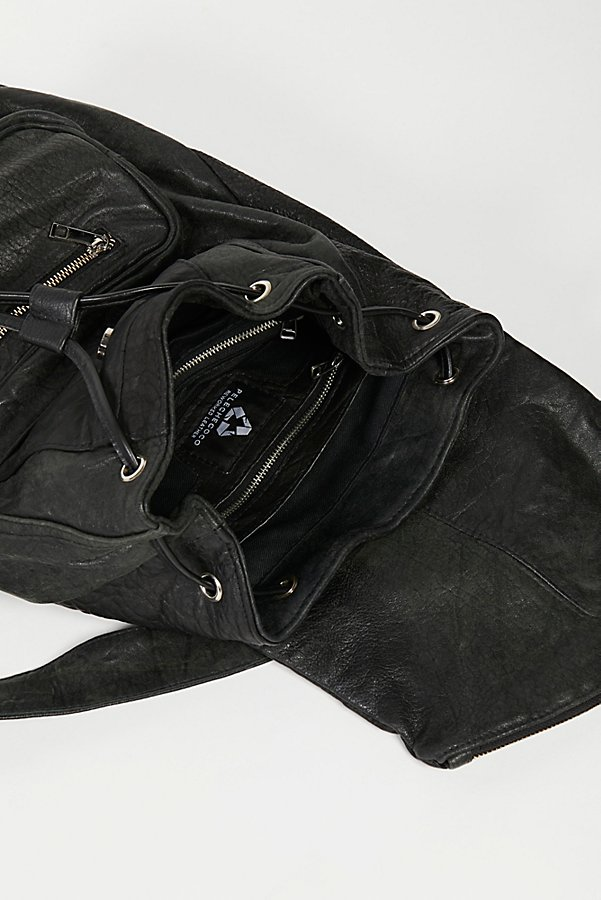 Slide View 7: Bow Leather Backpack