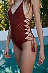Thumbnail View 3: Crochet Florence One-Piece Swimsuit