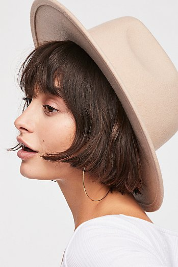 Wythe Leather Band Felt Hat