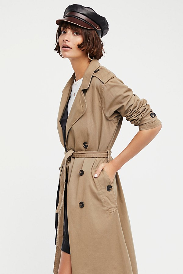 Slide View 1: Dorian Trench Coat